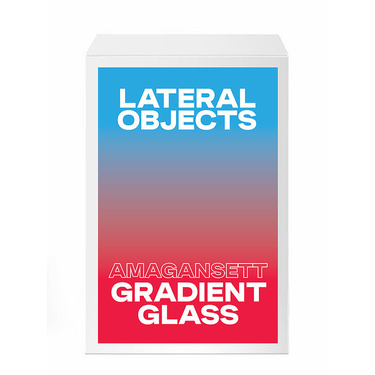 Amagansett Gradient Glass by Lateral Objects