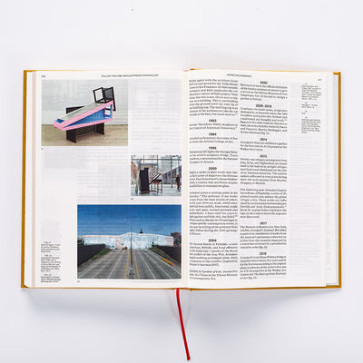 Siah Armajani: Follow This Line Book Inside