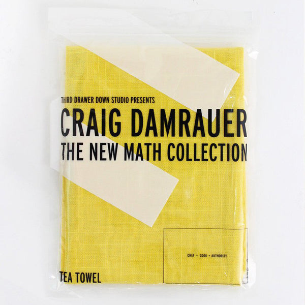 New Math Collection Tea Towels by Craig Damrauer