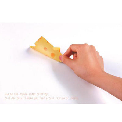 Sliced Cheese Sticky Notes