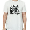 Experimental Jetset John & Paul & Ringo & George T-Shirt  from Experimental Jetset - 2