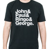 Experimental Jetset John & Paul & Ringo & George T-Shirt  from Experimental Jetset - 1