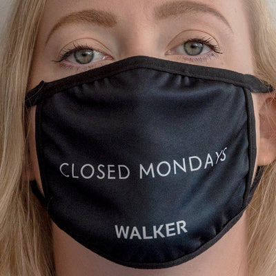 """Closed Mondays"" Mask"
