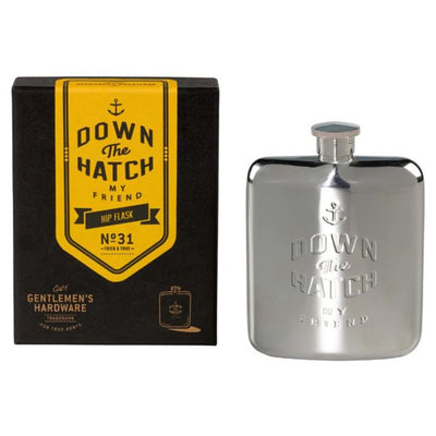 Hip Flask: Down the Hatch My Friend