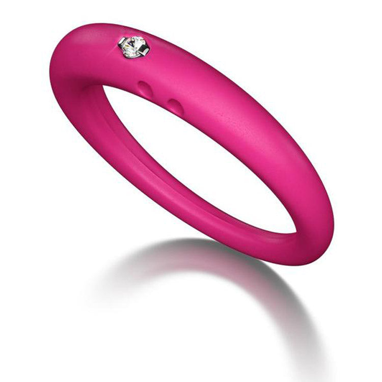 Silicone Ring With Diamond >> Duepunti Silicone Diamond Ring Walker Shop