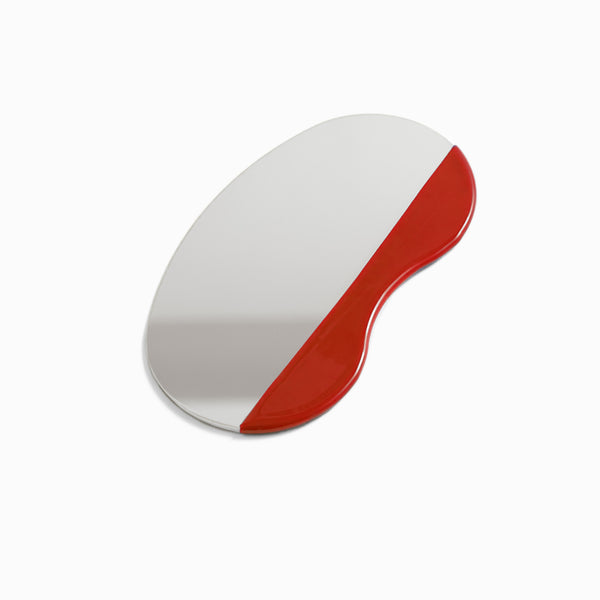 Utility Pocket Mirror Red Mask from Good Things NY - 1