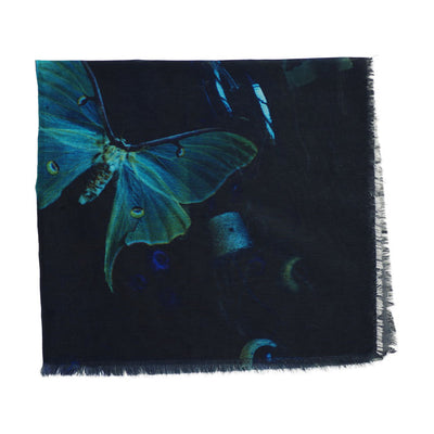 Cotton & Silk Bandana: Heart of Glass No. 2