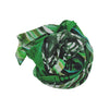 Emerald Fields Silk & Cotton Scarf