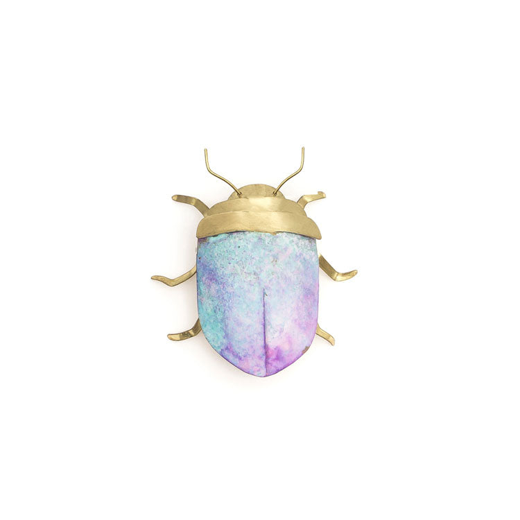 Small Brass Beetle by Sibilia