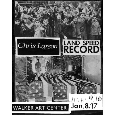 Chris Larson: Land Speed Record, Limited-Edition Print