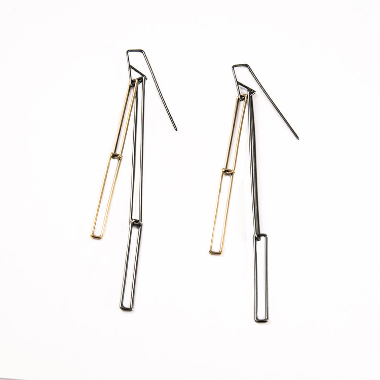 Parallel Earrings by Sarah Loertscher