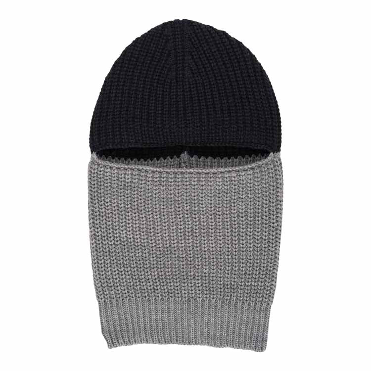 Ribbed Colorblock Balaclava by Verloop