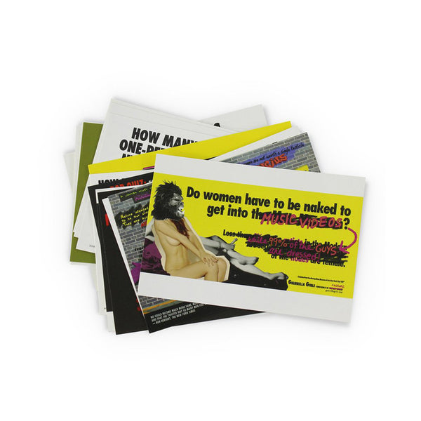 Postcard Boxset by Guerrilla Girls