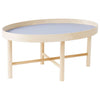 Large Low Tuokko Tray Table, Blue