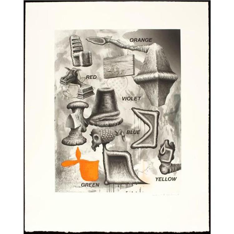 "Edward Henderson ""Untitled"" Print"