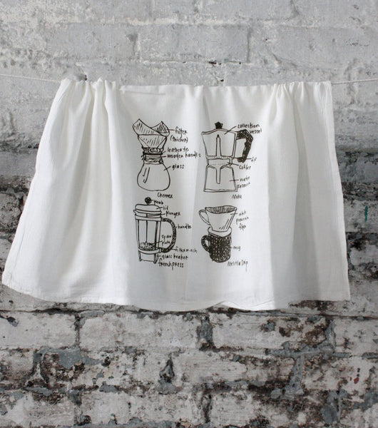 Coffee Tea Towel  from Girls Can Tell