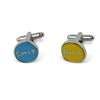 P*ss & Sh*t Cufflinks by David Shrigley