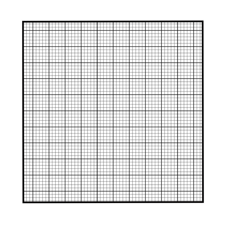 Graph Paper Pocket Square