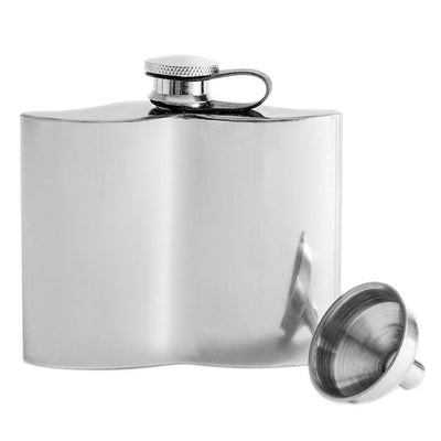 Moustache Hip Flask
