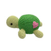 Crocheted Turtle Rattle