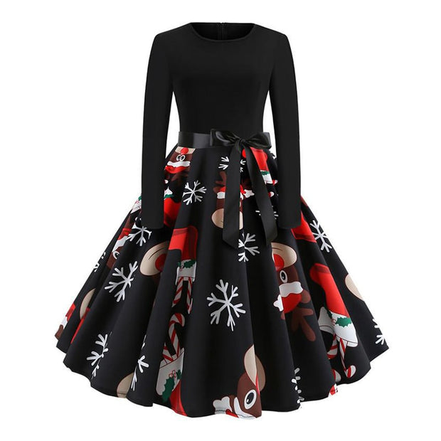 Robe Pin Up Hiver style années 50