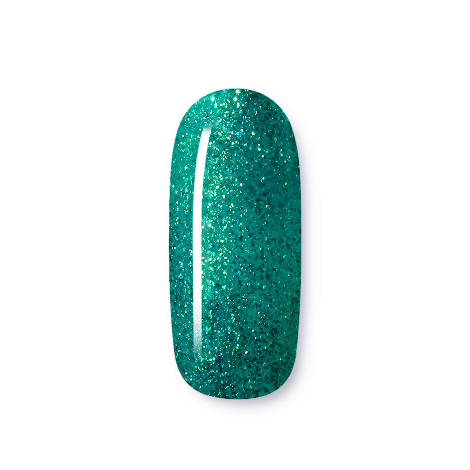 Teal Time | Glitters | Bisou Pro Nails