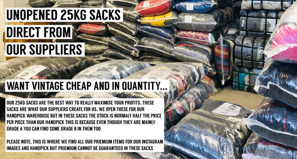 SEALED SACKS