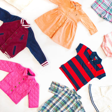 vintage toddler tommy and ralph lauren clothing