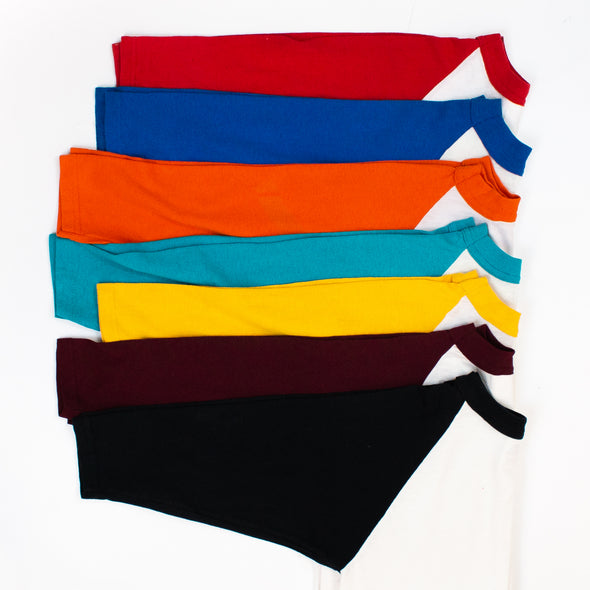 vintage block colour t-shirts