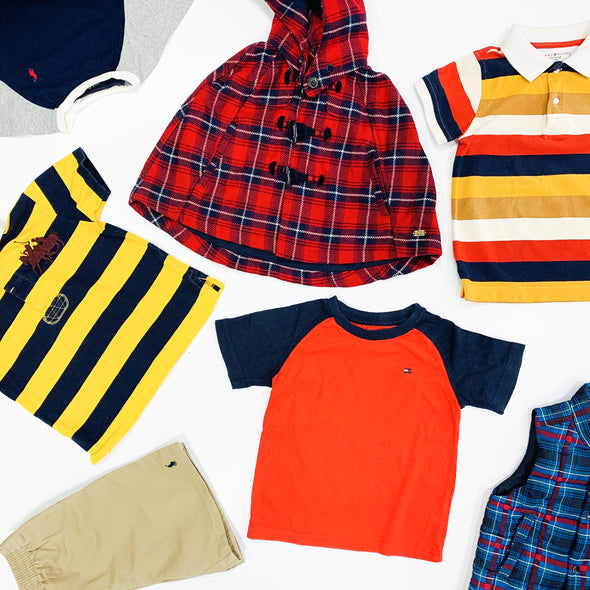 100 x Childrens Tommy & Ralph Pieces - Grade A