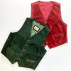 45kg Unbranded Waistcoats Leather, Denim & Suede Mix - BALE