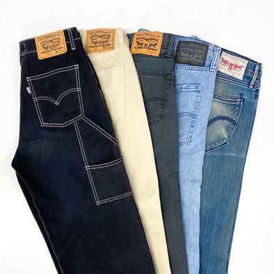 25 x Mixed Code Levi's Jeans - SEALED SACKS