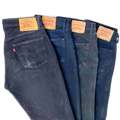 25 x Levi's 501 Mix in Black - SEALED SACKS