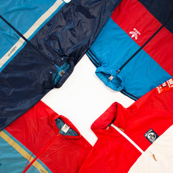 25kg Branded Windbreaker Cagoule Mix - Sealed Sacks