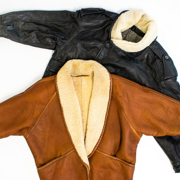 30 x Sheepskin Lammy Jackets Mix
