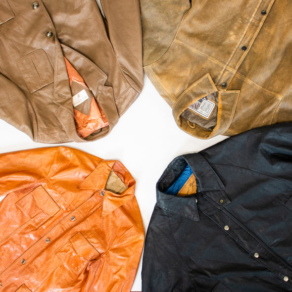 mens vintage leather jackets