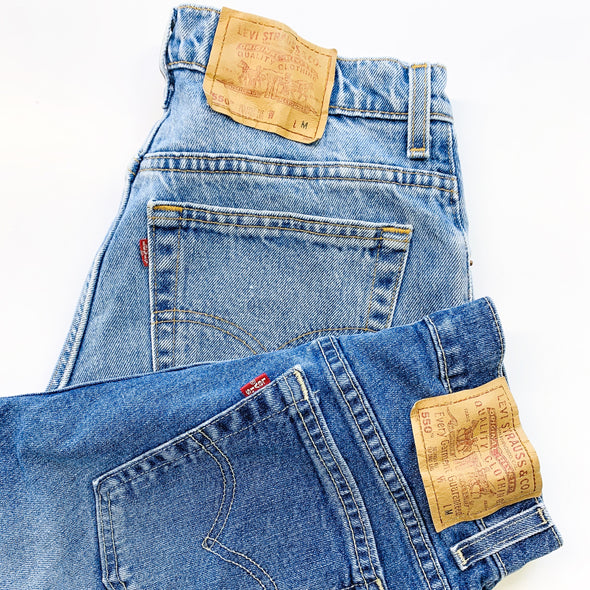 30 x Ladies Branded High Waisted Mom Jeans - Grade A
