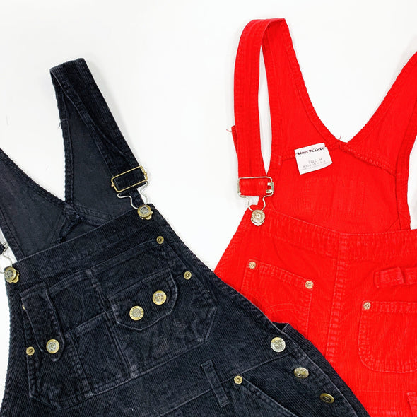 30 x Ladies Cord Dungarees - Grade A