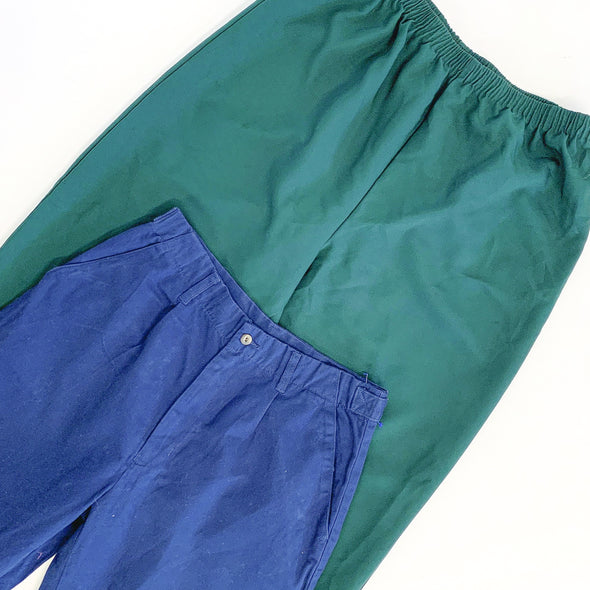 30 x Ladies High Waisted Trousers - Grade A