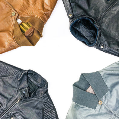 30 x Leather Bomber Jackets - Grade A