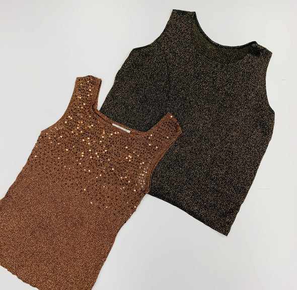 45kg Ladies Metallic Tops & Dresses Mix - BALE