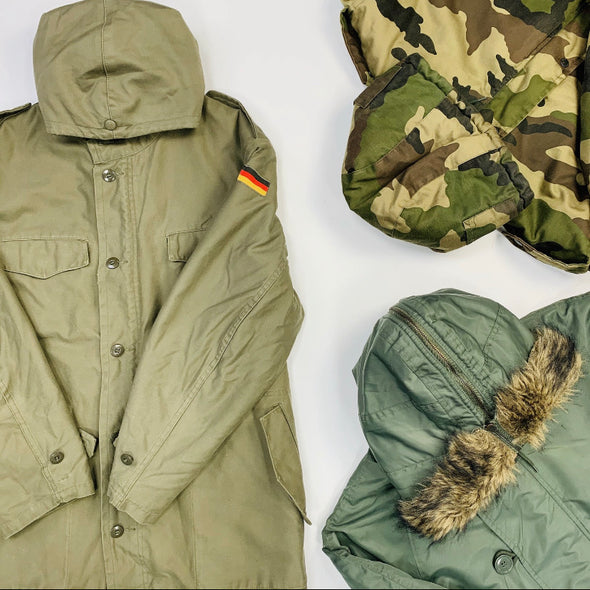 45kg European & USA Military/Hunting Clothing - BALE