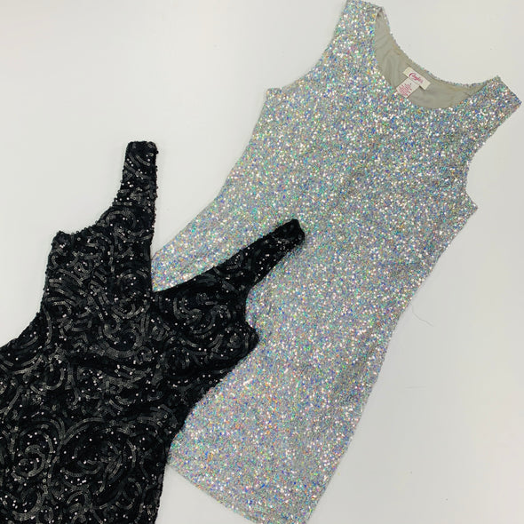 25kg Sequin Dresses - Sealed Sacks