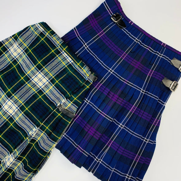 30 x Ladies Tartan Skirts / Kilts - Grade A