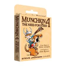 Munchkin 4 The Need for Steed (expansion)