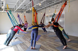 Is your yoga practice getting tired? What about taking it to the air!