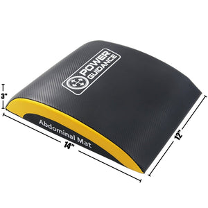Best Lightweight Core Trainer Mat | Ab Mat for Isolation of Muscles - POWER GUIDANCE FITNESS