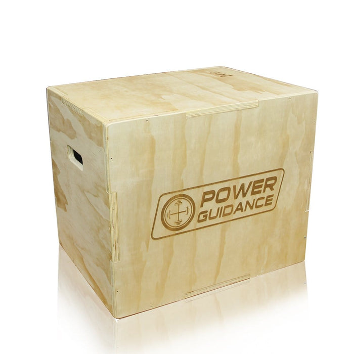 3 in 1 Wood Plyo Box for Jump Training and Conditioning
