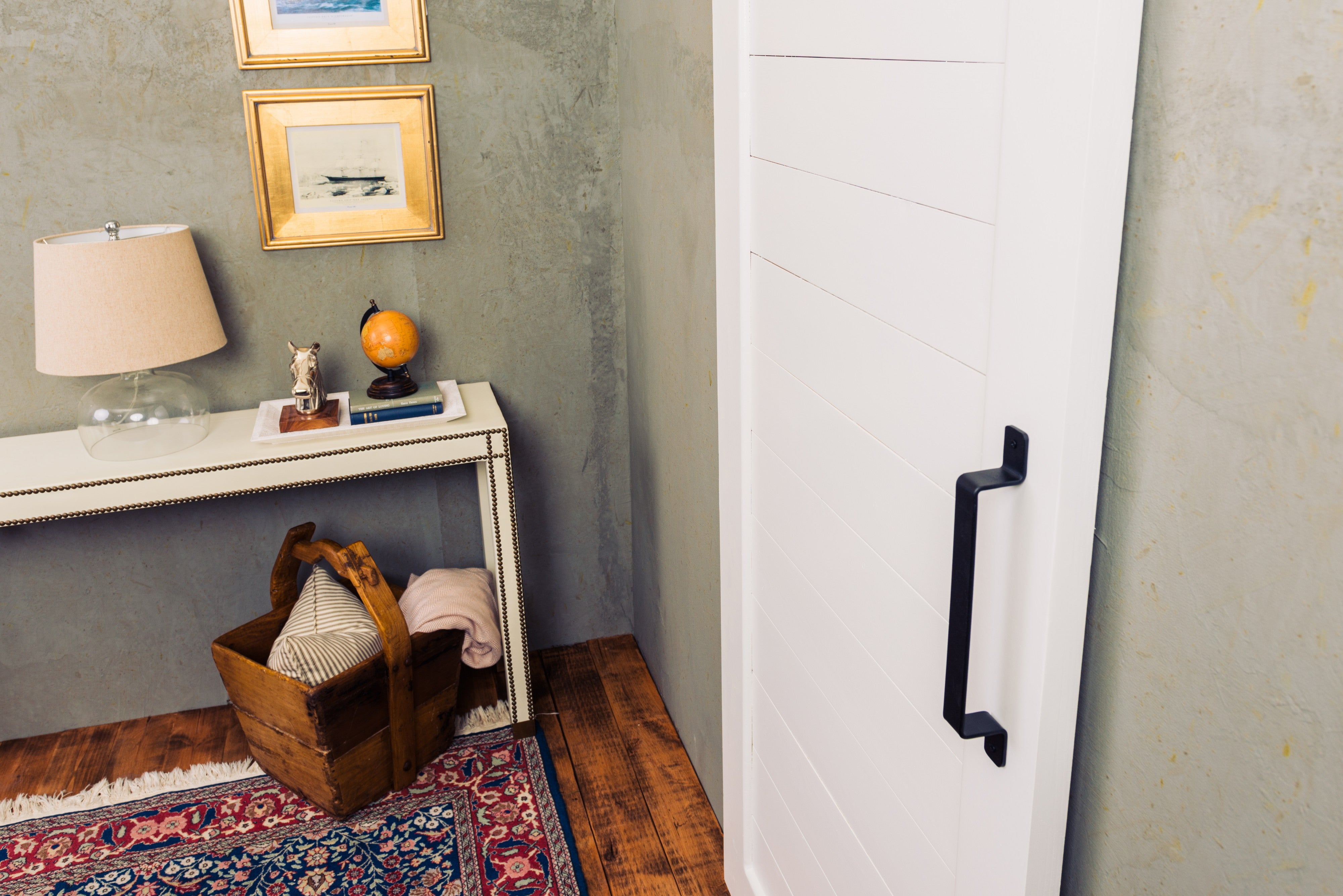 Space Saving with Sliding Barn Doors