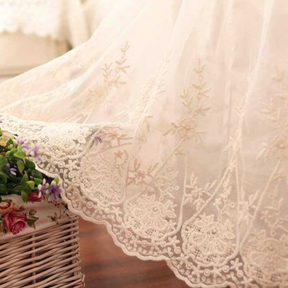 shabby chic lace